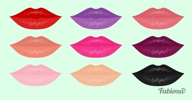 Ваш характер по цвету губной помады. Узнайте кое-что интересное о себе!