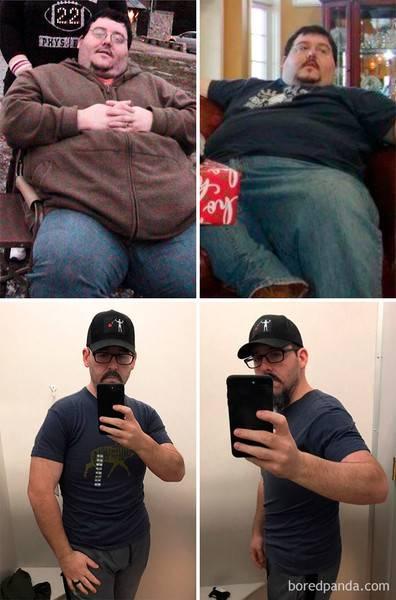 Вы не поверите, что это одни и те же люди. Лучшие фото До и После похудения