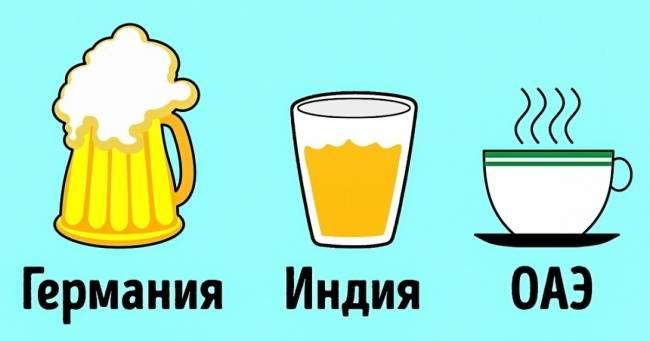 Мыузнали, что пьют попятницам жители разных стран