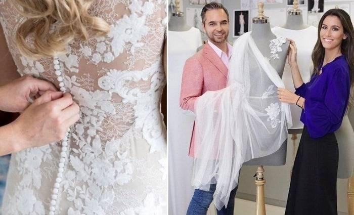«Голый» свадебный комбинезон: Дизайнеры предложили смелую альтернативу привычным платьям