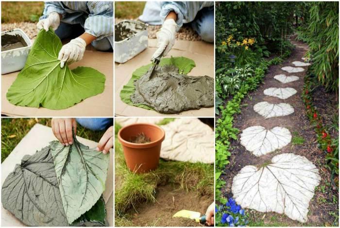 Из бетона своими руками для дизайна сада 472