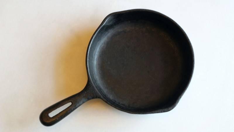 Как вернуть к жизни старую чугунную сковороду