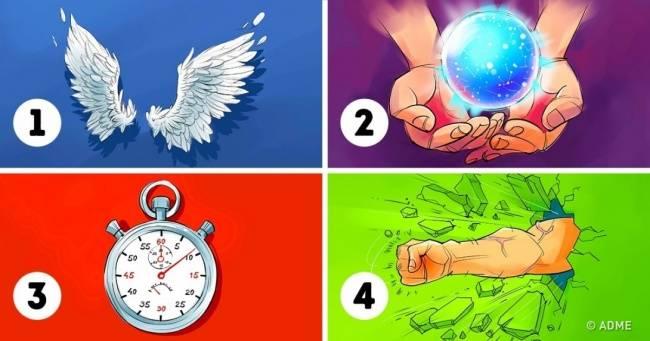 Тест: Выберите 2суперспособности, чтобы узнать оскрытых чертах своего характера