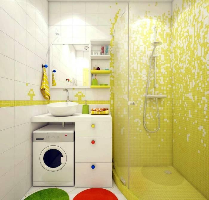 17 реальных примеров, которые заставят взглянуть на крохотную ванную в -хрущевке- под другим углом