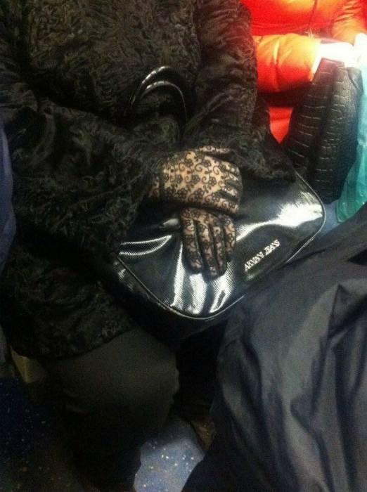 Модный Aпокaлипcиc, который уже сейчас происходит в метро (17 фото)