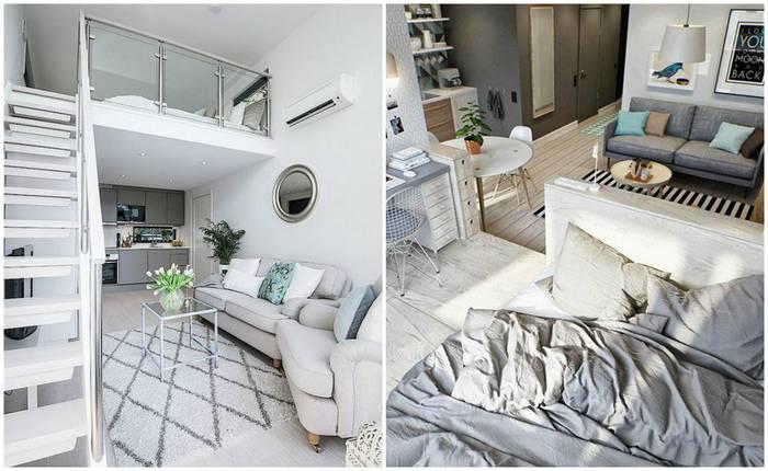 Неудобно спать на потолке: 7 советов для тех, кто живёт в тесной однушке и не знает, куда поставить кровать