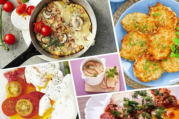 5 диетических и сытных завтраков без глютена