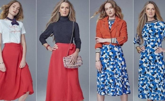Как и с чем сочетать наряды, которые подойдут для любого возраста: Весенние образы от мамы и дочки