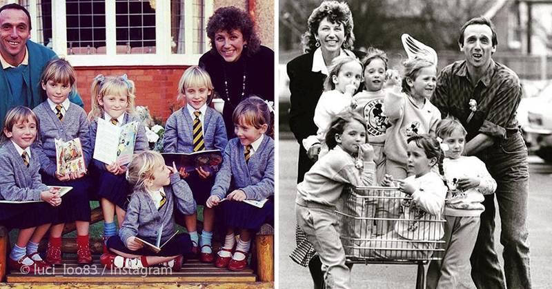 Их мать думала, что ждет двойню: единственные в мире девочки-шестерняшки 35 лет спустя