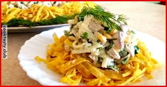 Пасхальный салат «Загадка» — вкуснятина неимоверная