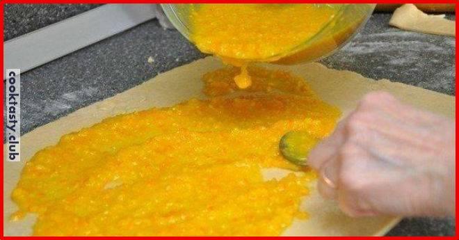 Вкусное апельсиновые печенья — 111