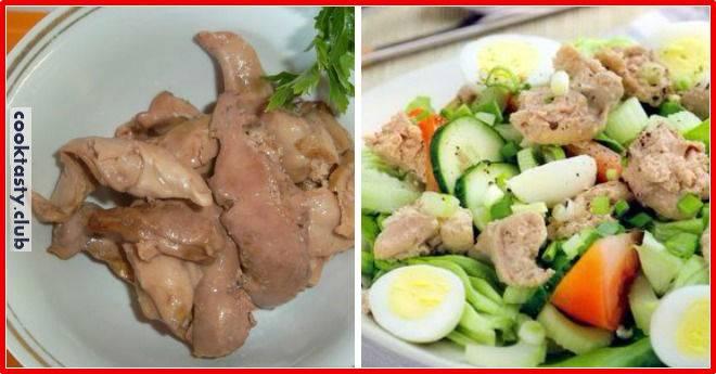 Вкусные салаты из печени трески