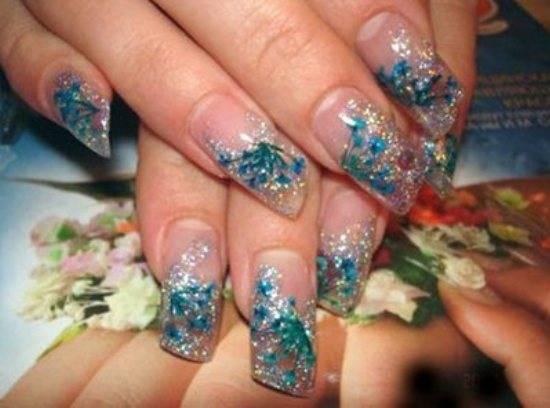 Особенности аквариумного дизайна ногтей (фото). Актуальный аквариумный дизайн ногтей на фото - во всём своём разнообразии