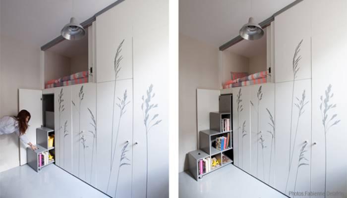 Макси-комфорт в крошечной квартире: Как разместиться на 8 кв. метрах