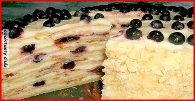 Быстрый торт на сковородке