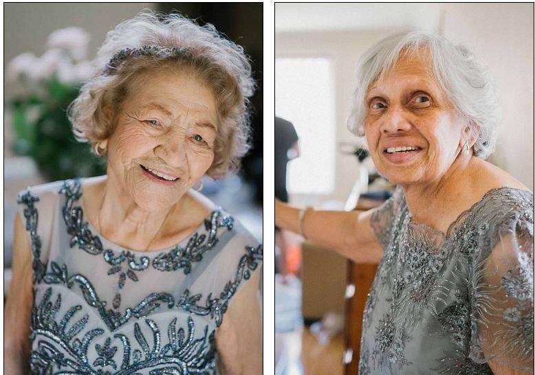 Жених с большим сердцем. Это он придумал пригласить этих бабушек -цветочными девушками- на свадьбу