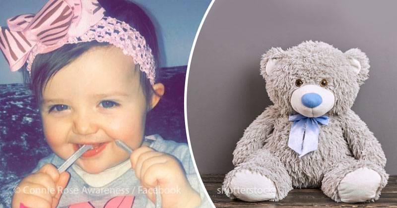 18-месячная девочка умерла из-за игрушки, которую мама положила ей в постель