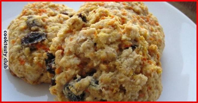 Печенье для тех, кто на диете &8212; с морковью и сухофруктами