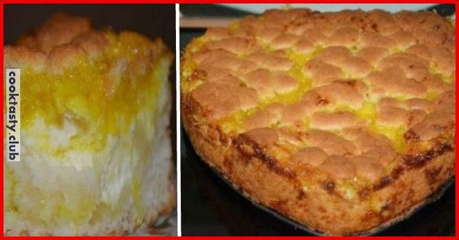 Лимонный пирог «Цитрон»
