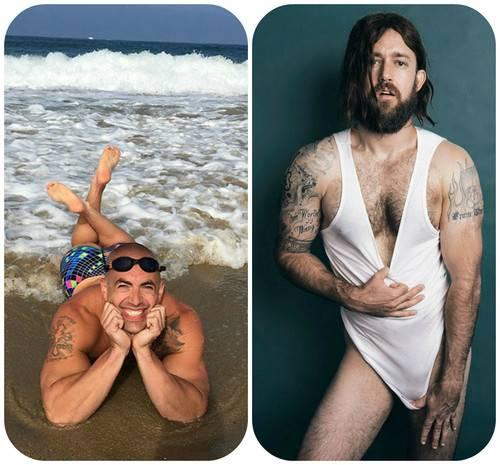 Когда мужчины пародируют женские селфи (20 фото)