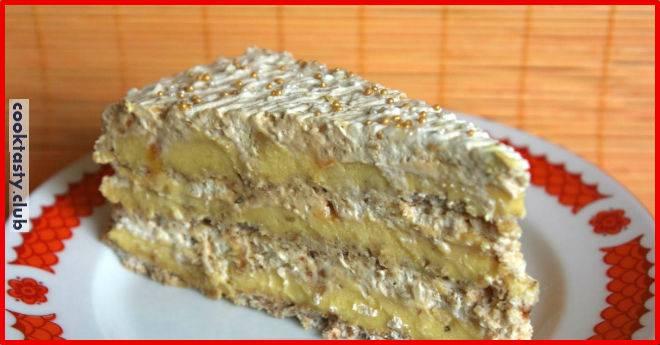 Египетский торт. Готовится не быстро, но результат шикарный