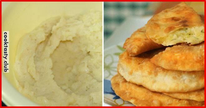 Пирожки с картошкой на дрожжевом тесте