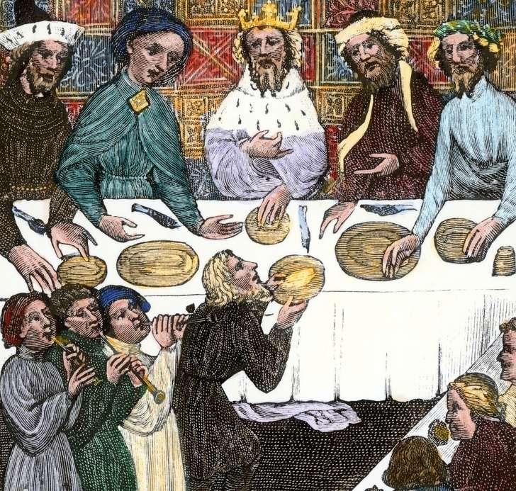 Какбы выглядело ваше меню, еслибы выродились всредневековой Европе