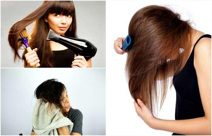 11 вредных привычек, которые делают волосы слабыми и ломкими