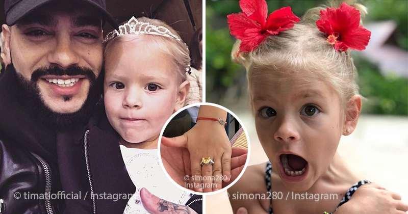 Неужели бриллиант? Тимати подарил своей 4-летней дочери кольцо с огромным камнем