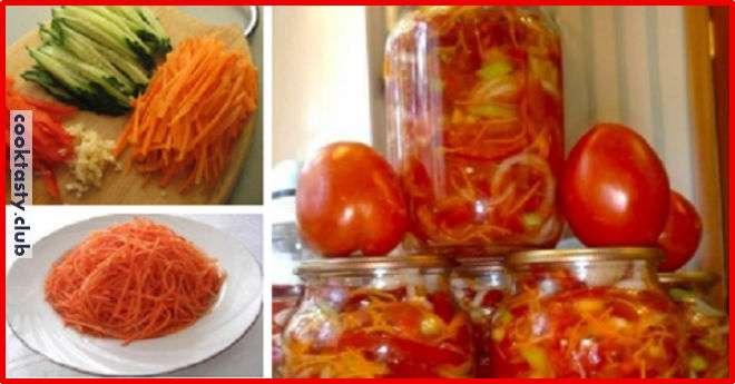 Овощной салат &171;Берегись, водка&187;