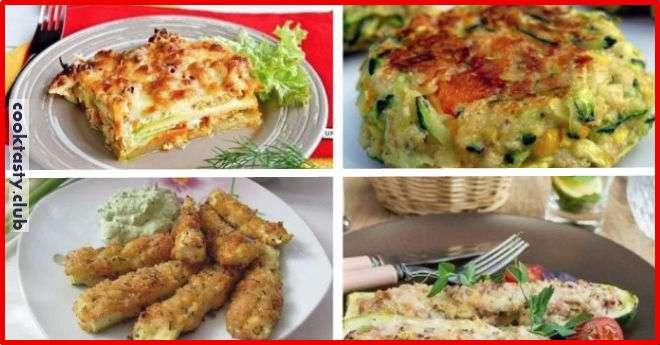 ТОП-5 диетических блюд из кабачков