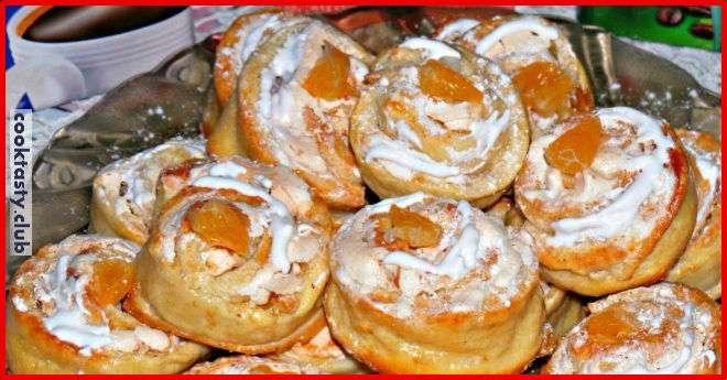 Печенье -Творожное- с безе