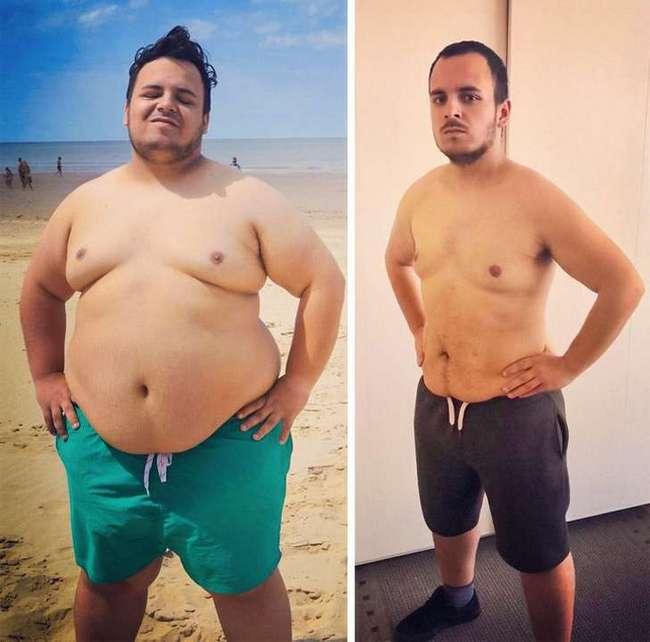 Мотивация похудения мужчин