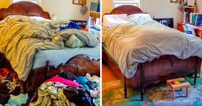 20+фотографий, которые раз инавсегда докажут, что уборка— это насамом деле круто
