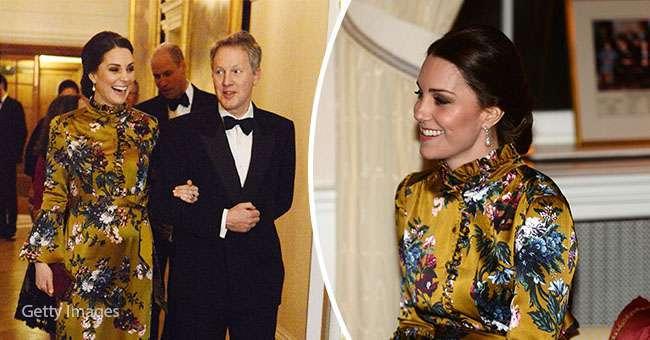Вершина элегантности: это цветочное платье Кейт Миддлтон пока может считаться лучшим нарядом, в котором она появлялась на публике