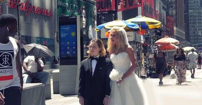 Выдавать замуж 12-летнюю девочку — это нарушение прав человека, но как насчет женитьбы на мальчике? Эксперимент показал неожиданные реакции людей