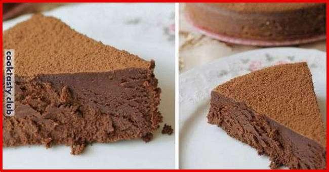 Нежный шоколадный трюфель