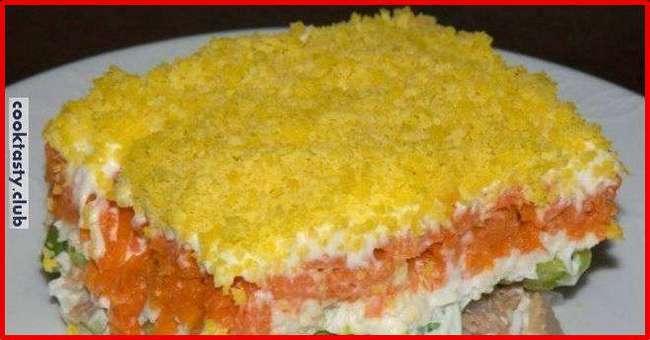 Правильный рецепт салата «Мимоза»