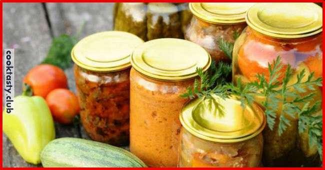 ТОП-15 рецептов салатов из кабачков на зиму