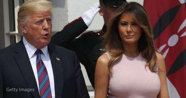 Мелания Трамп восхитила роскошной летней юбкой с цветочным принтом