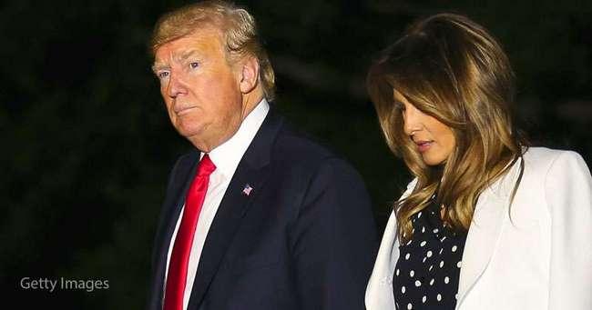 Шик: Мелания Трамп продемонстрировала идеальную фигуру в роскошном белом костюме