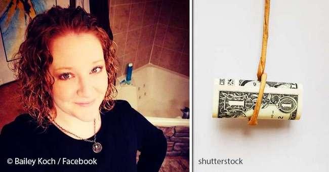 Преподавательница подвесила к потолку $1, чтобы преподать своим студентам важный урок