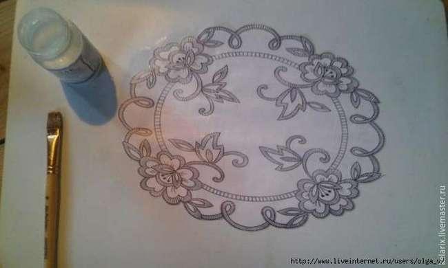 Создаем имитацию кружева: мастер-класс