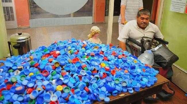 Вот что можно сделать из крышек от пластиковых бутылок! Больше никогда не выброшу ни одной пробки…