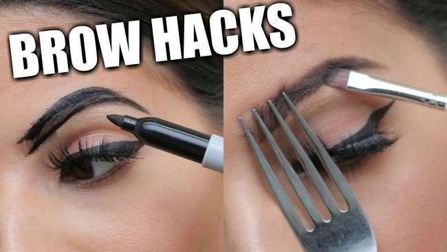 Простые трюки для идеальных бровей