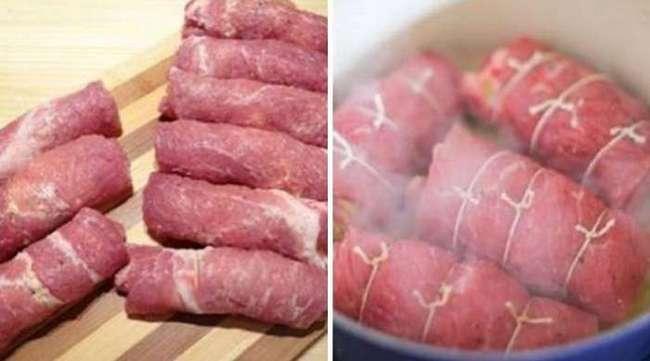 Свиные рулетики с нестандартной начинкой: простое блюдо, которое никого не оставит равнодушным