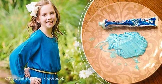 Мама использовала зубную пасту, чтобы преподнести дочери важный жизненных урок. И он стал вирусным