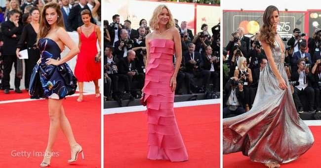 Роскошные и прекрасные: лучшие платья звезд с Венецианского кинофестиваля-2018