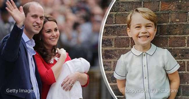 Вот что значит признательность: Кейт и Уильям разослали фанатам очаровательное фото принца Джорджа
