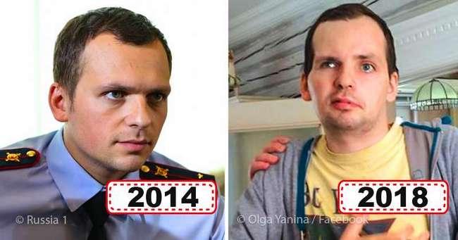 Фото парализованного после инсульта актера Алексея Янина всколыхнули Сеть